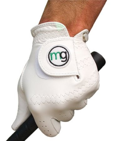 M.G. Golf Glove Men's DynaGrip All-Cabretta Leather