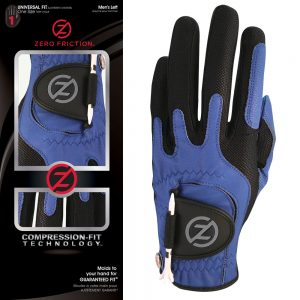 Men's Zero Friction Compression-Fit Synthetic Golf Glove
