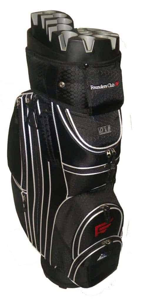 Founders Club 14-Way Premium Cart Bag - The Best Golf Bags for Push Carts