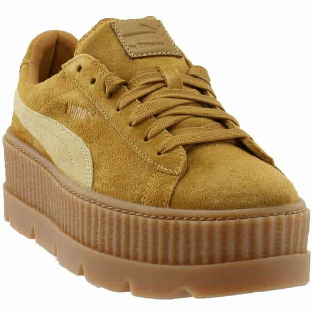 PUMA Women's Fenty by Rihanna Suede Cleated Creeper Casual Sneakers