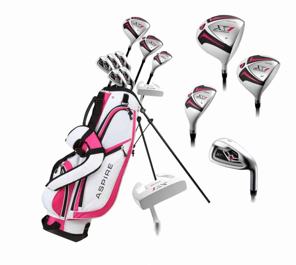 Aspire PRO-X Ladies Complete Golf Clubs Set