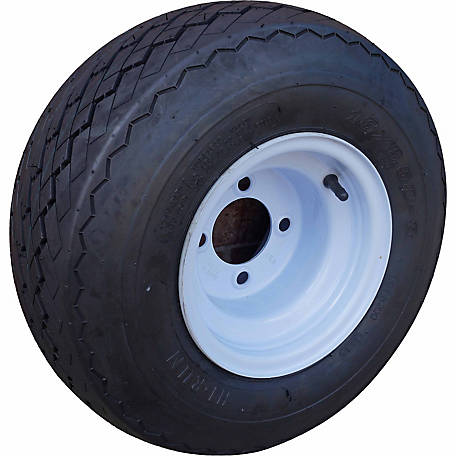 Four Golf Cart Tires & Rims