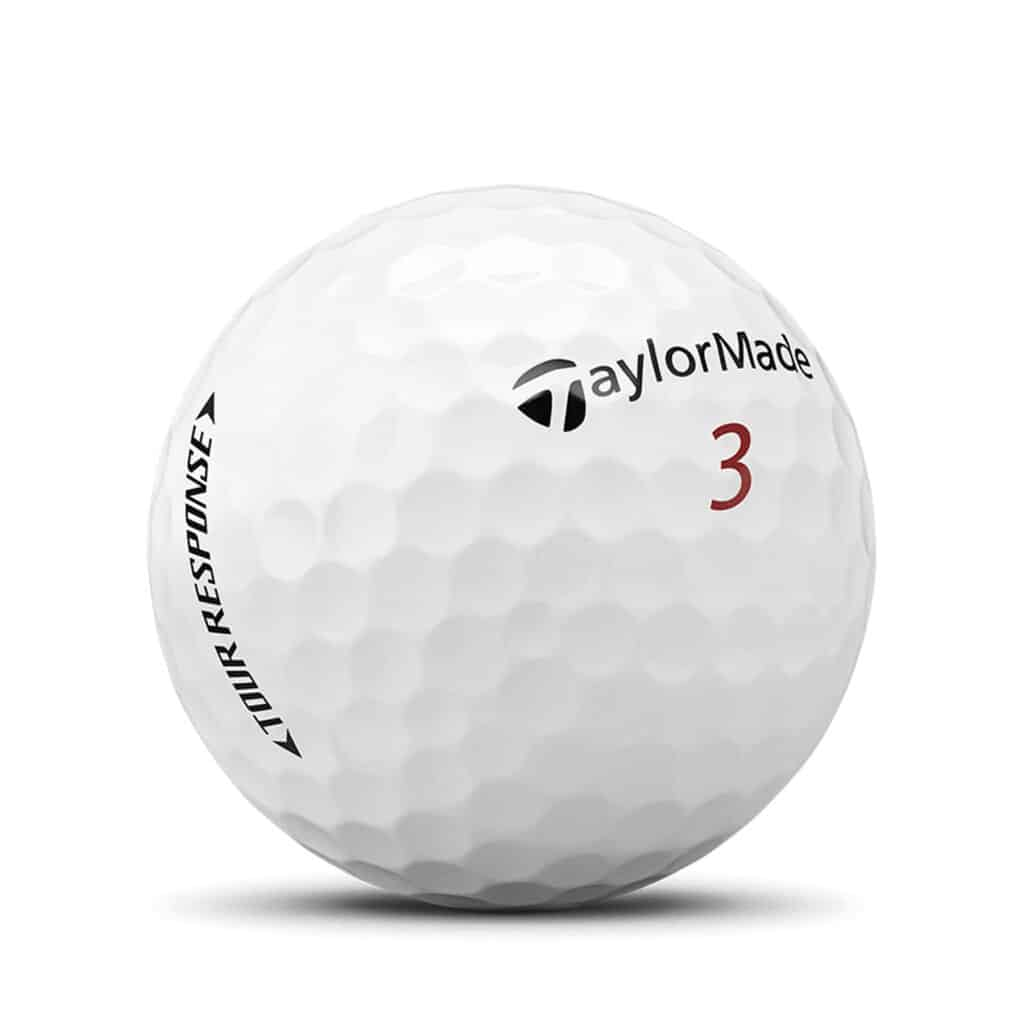 TaylorMade Tour Response Best Golf Balls For High Handicappers