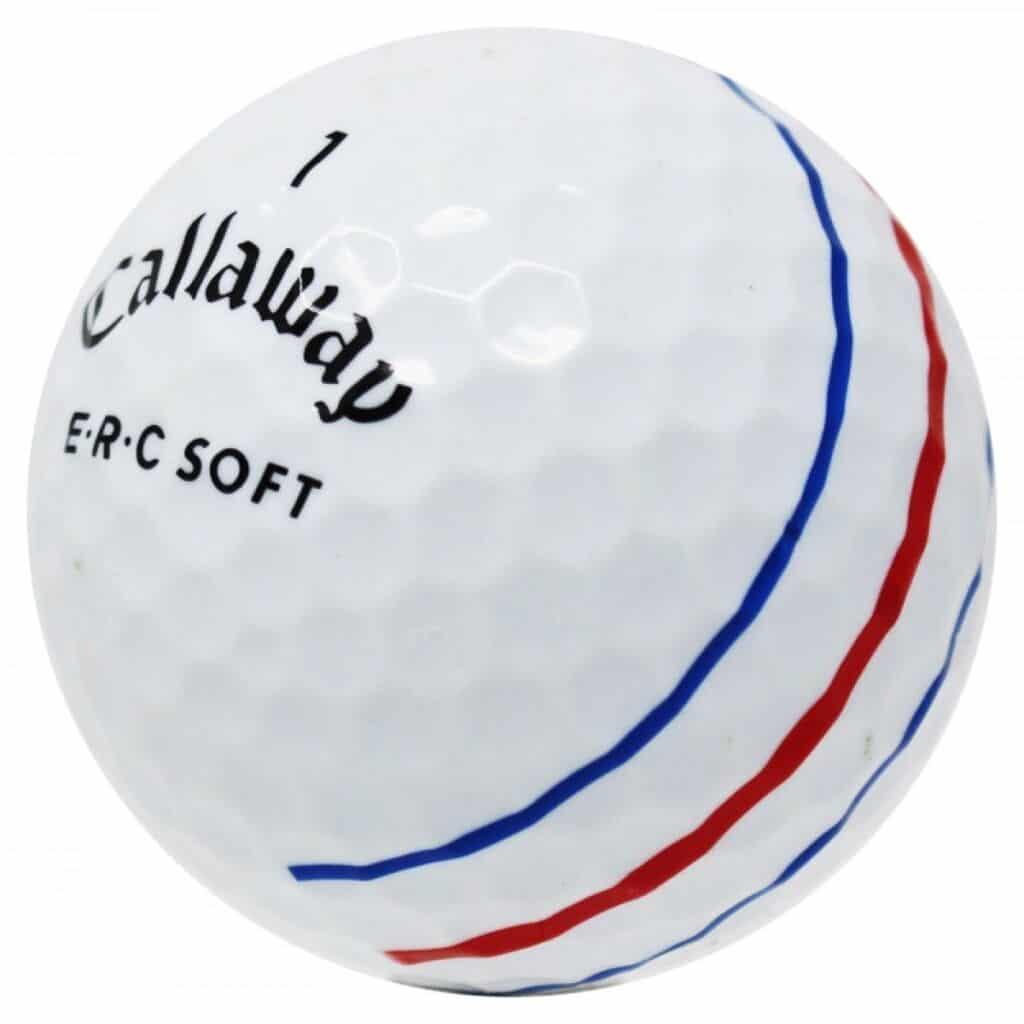 The Callaway ERC Soft Triple Track Golf Ball