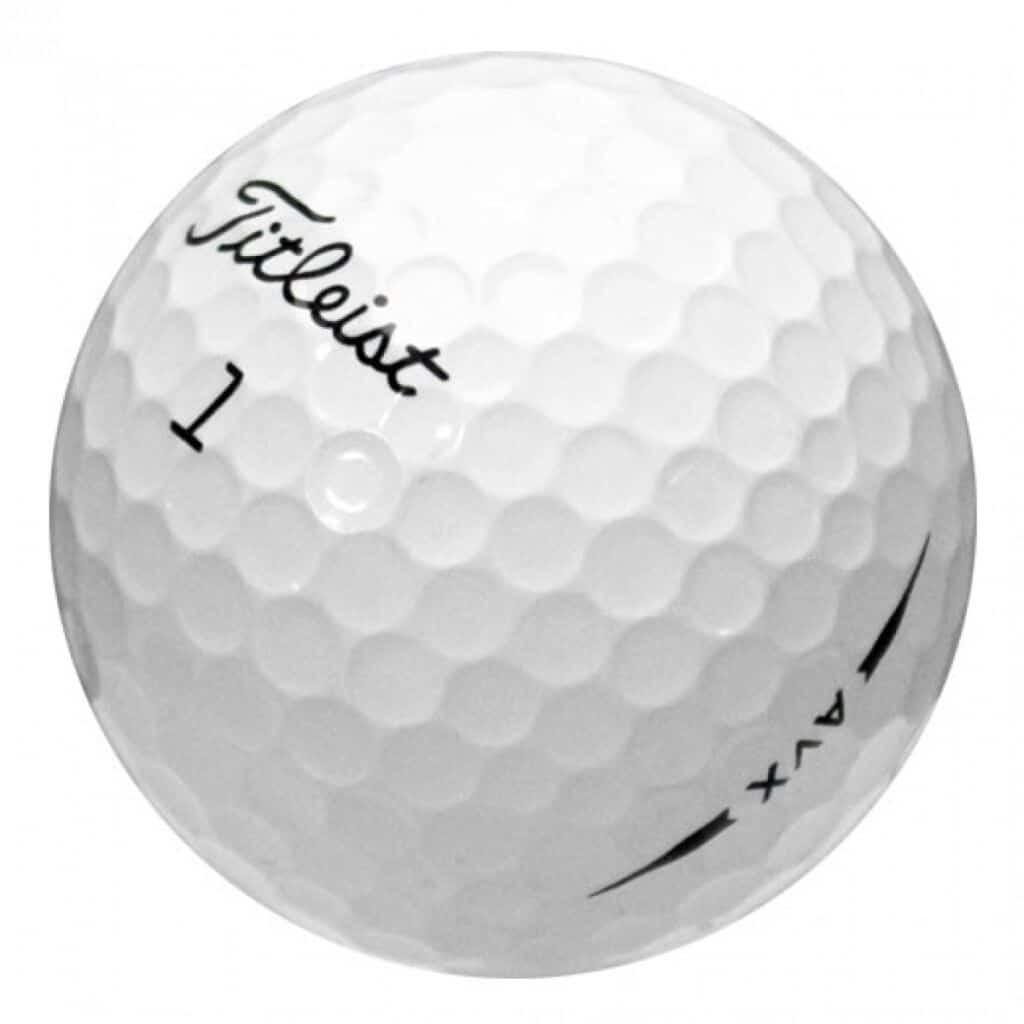 The Titleist AVX Golf Ball